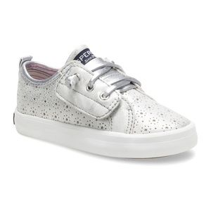 {Infant/Toddler} Sperry Silver Crest Vibe Jr.
